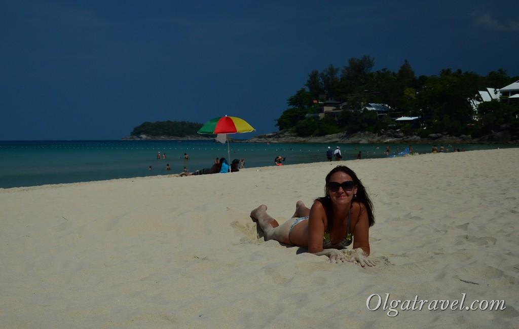 пляж Ката Ной Таиланд