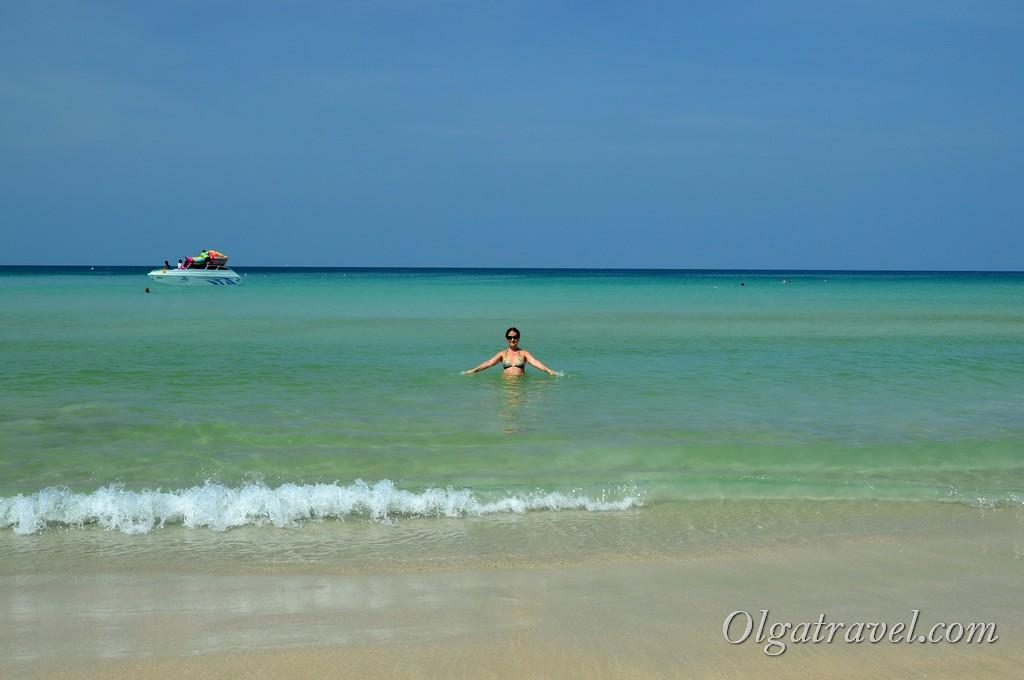 пляж Ката Ной бич