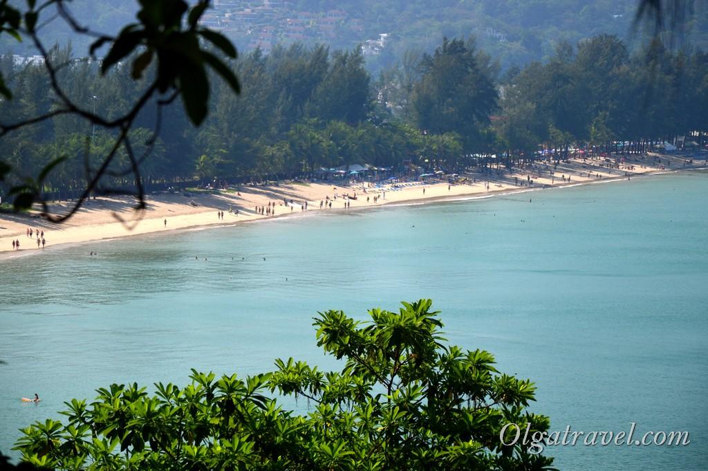 пляж Камала Таиланд