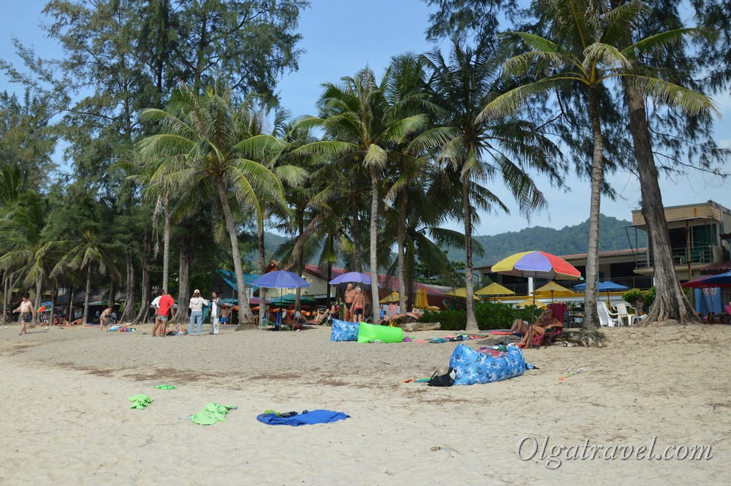 пляж камала фото