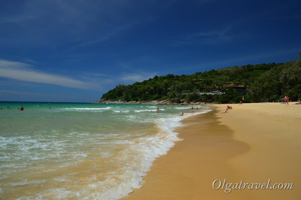 пляж Найтон бич Пхукет