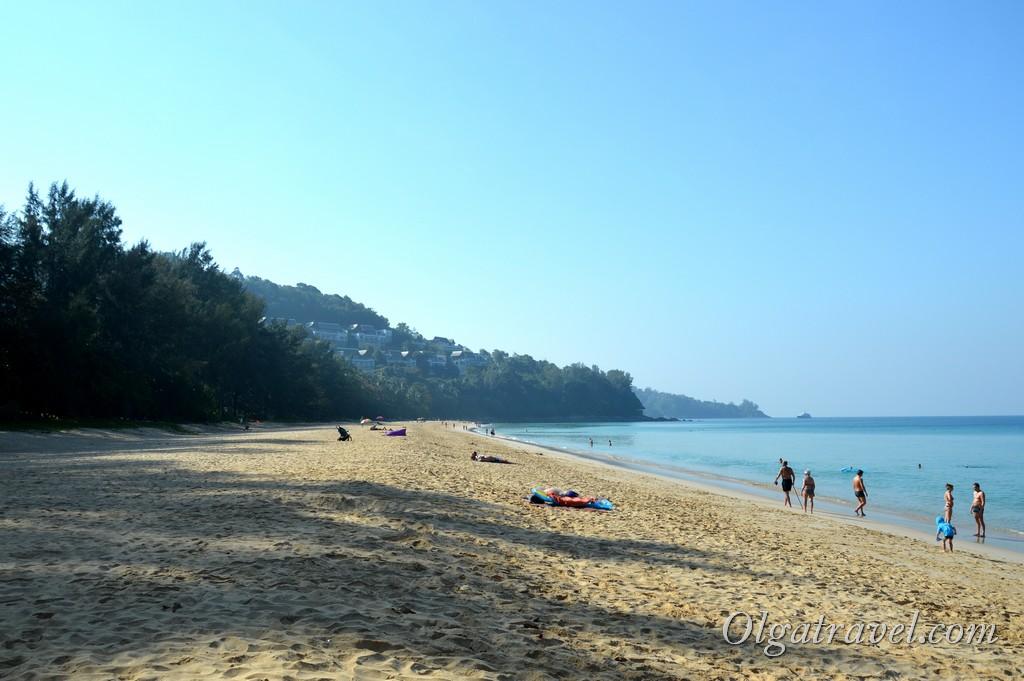 пляж Найтон бич