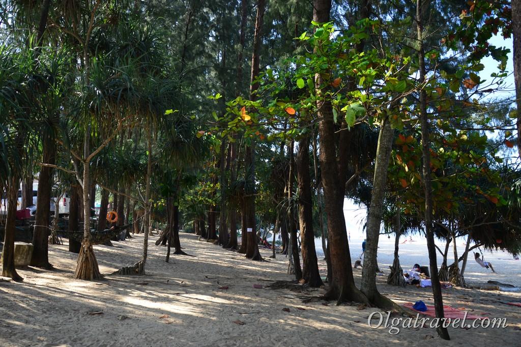 пляж Найтон Таиланд