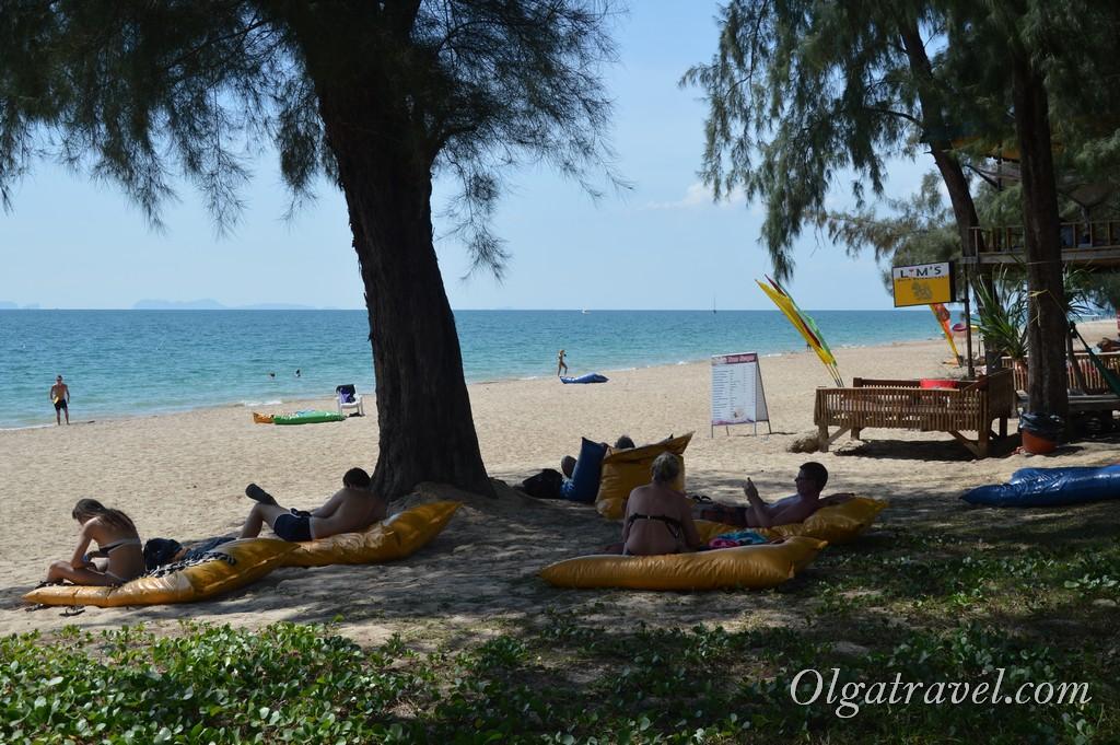 ко ланта пляжи