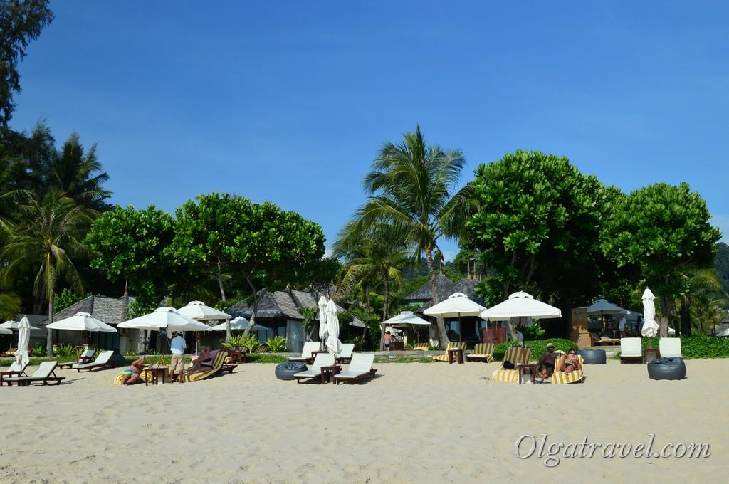 отели Ланты на пляже Лонг бич