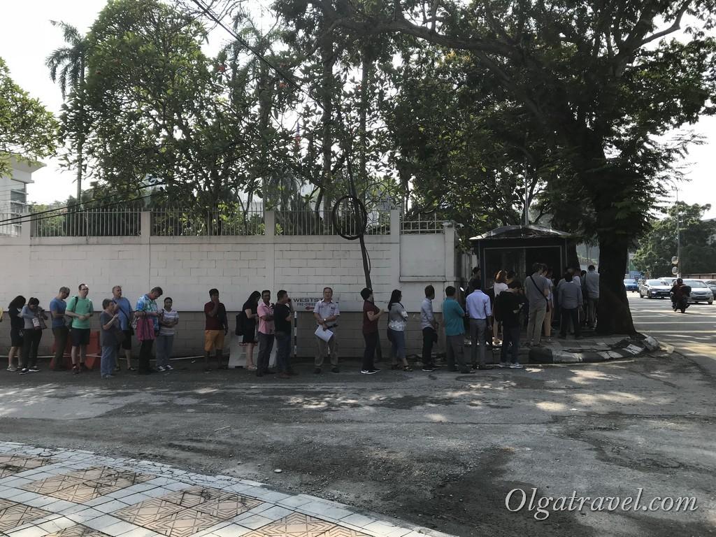 виза в таиланд куала лумпур