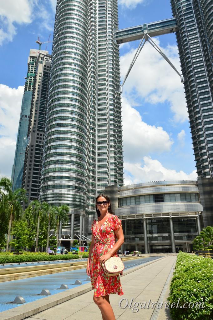 башни близнецы петронас куала лумпур
