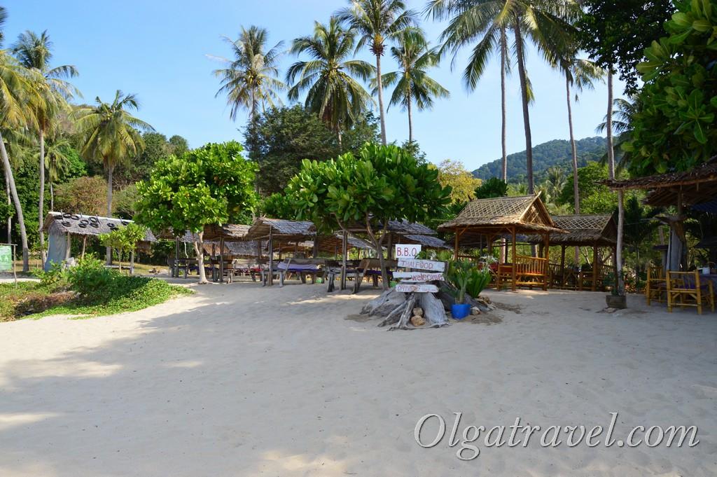 пляж Бамбу Бэй Ланта