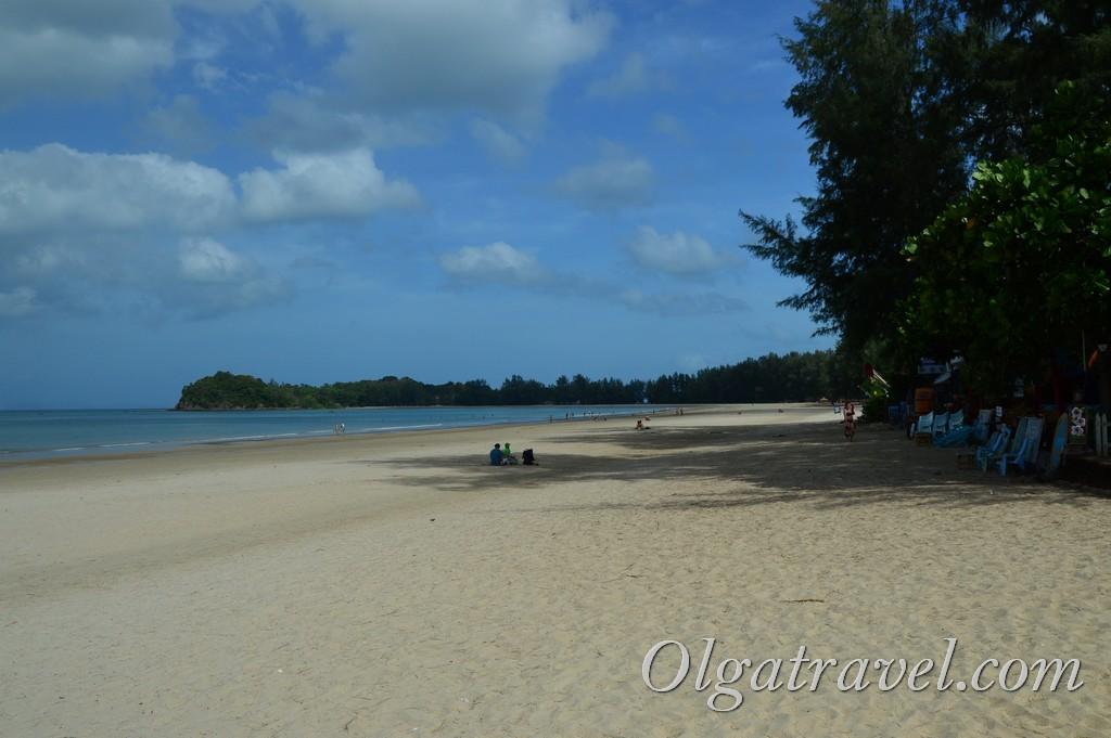 пляж клонг дао ланта