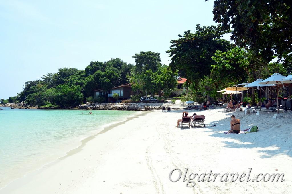 отели Самета на пляже Ао Чо