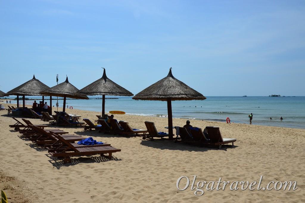 отель VinOasis Resort пляж