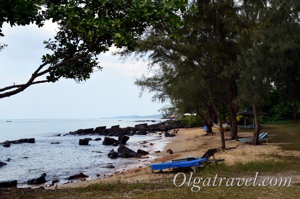 пляж Онг Ланг бич фукуок вьетанм