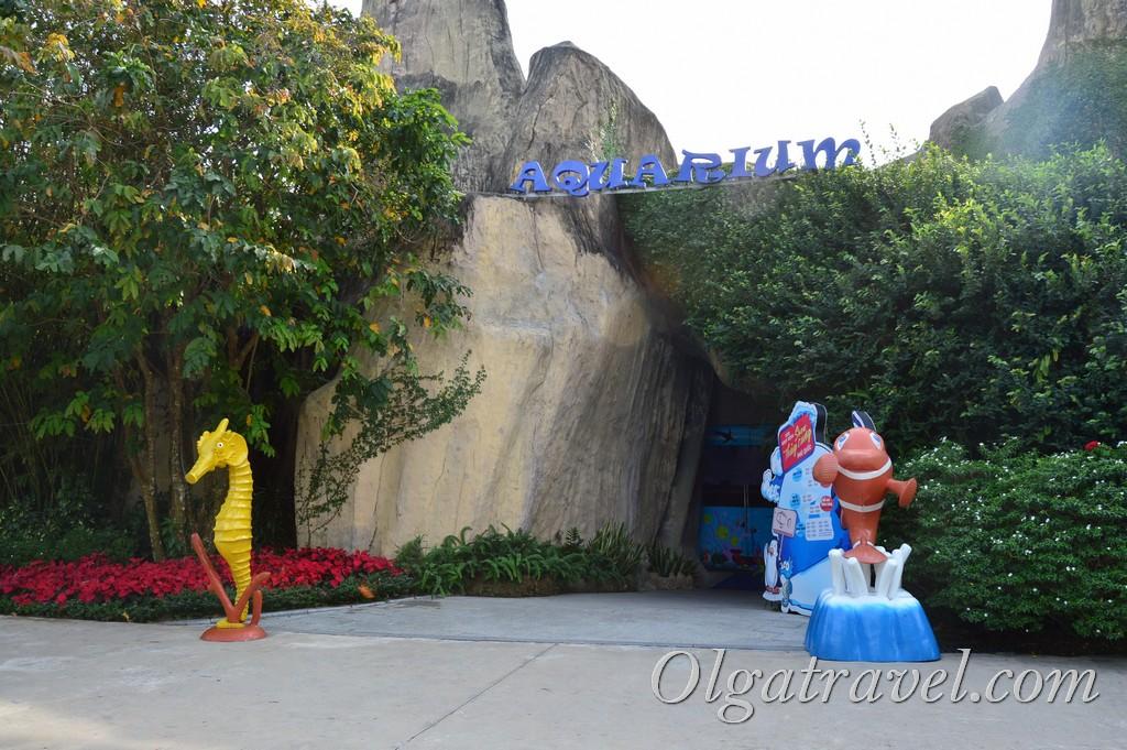 фукуок аквариум
