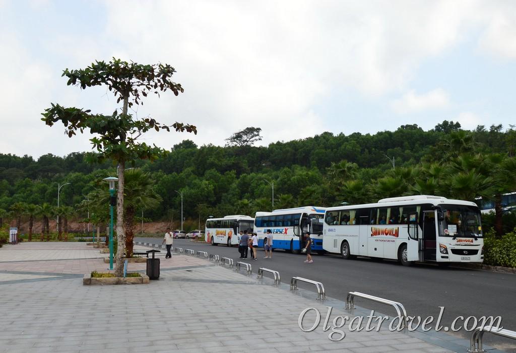 фукуок канатная дорога бесплатный автобус