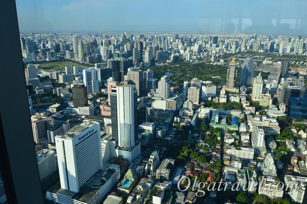 mahanakhon смотровая площадка Бангкок