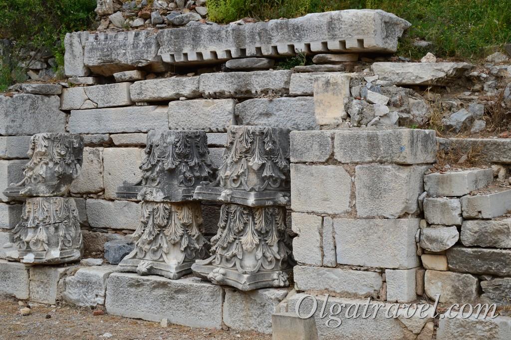 древний эфес турция