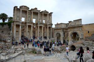 библиотека Цельса эфес