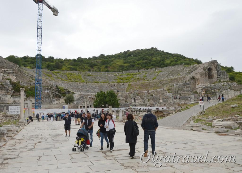 античный эфес турция