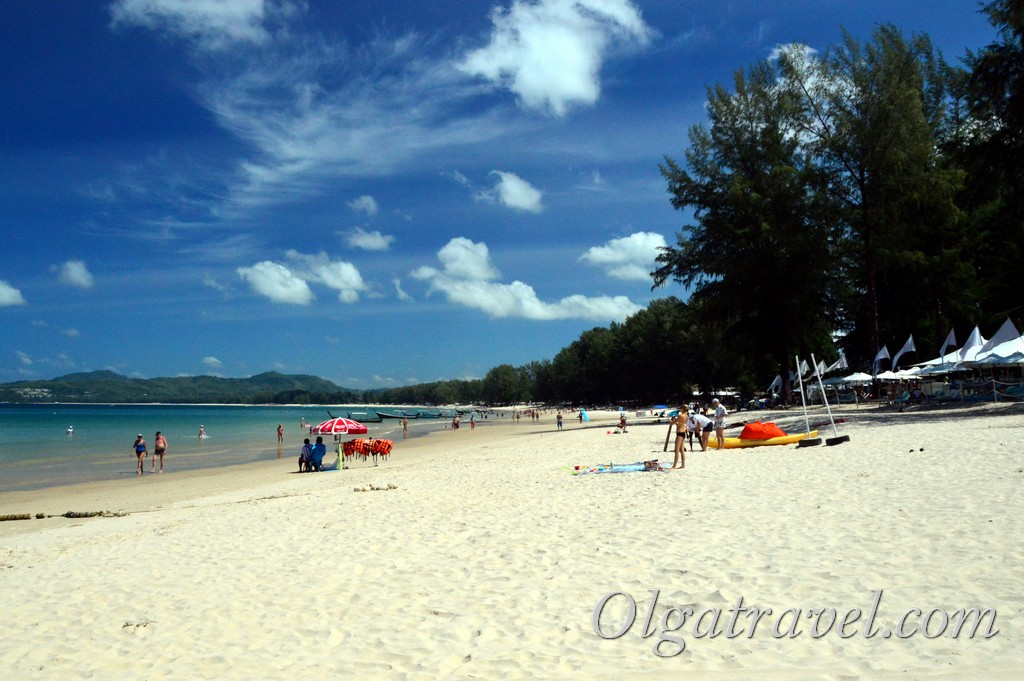 пляж Банг Тао Пхукет