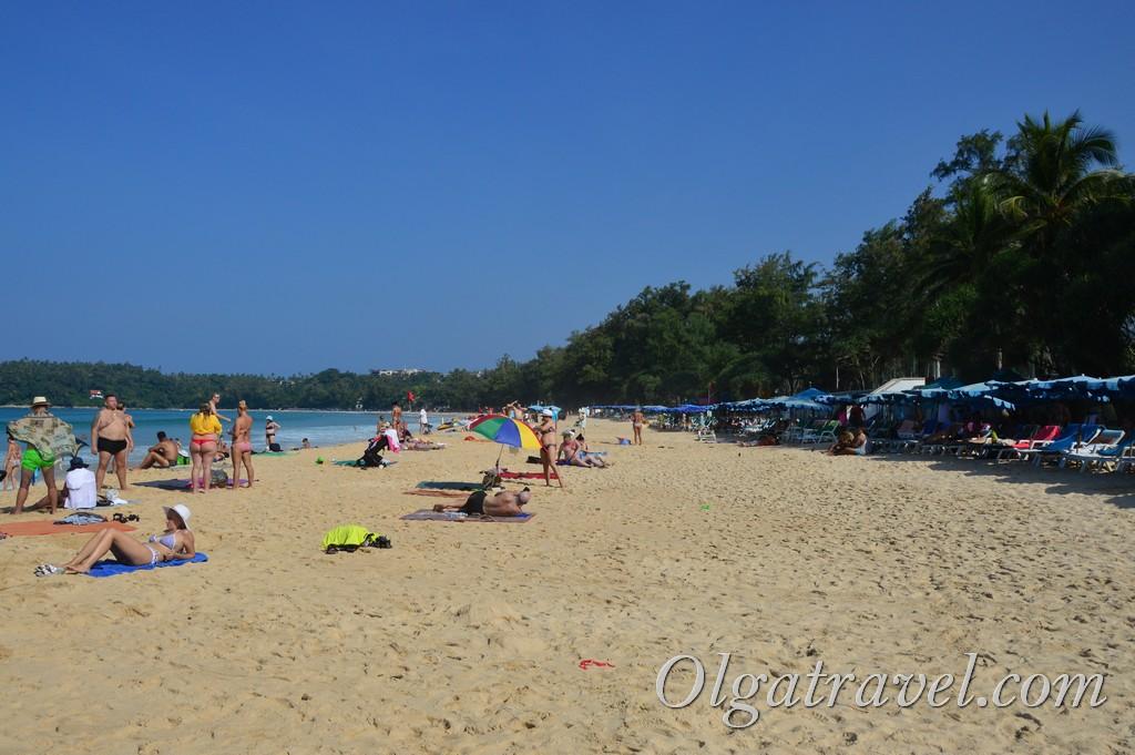 пляж ката бич пхукет