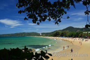 пляж карон пхукет фото