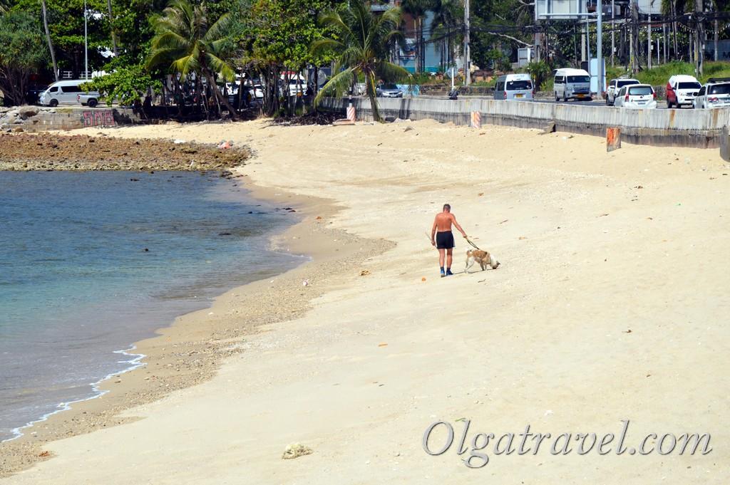 пляж калим пхукет