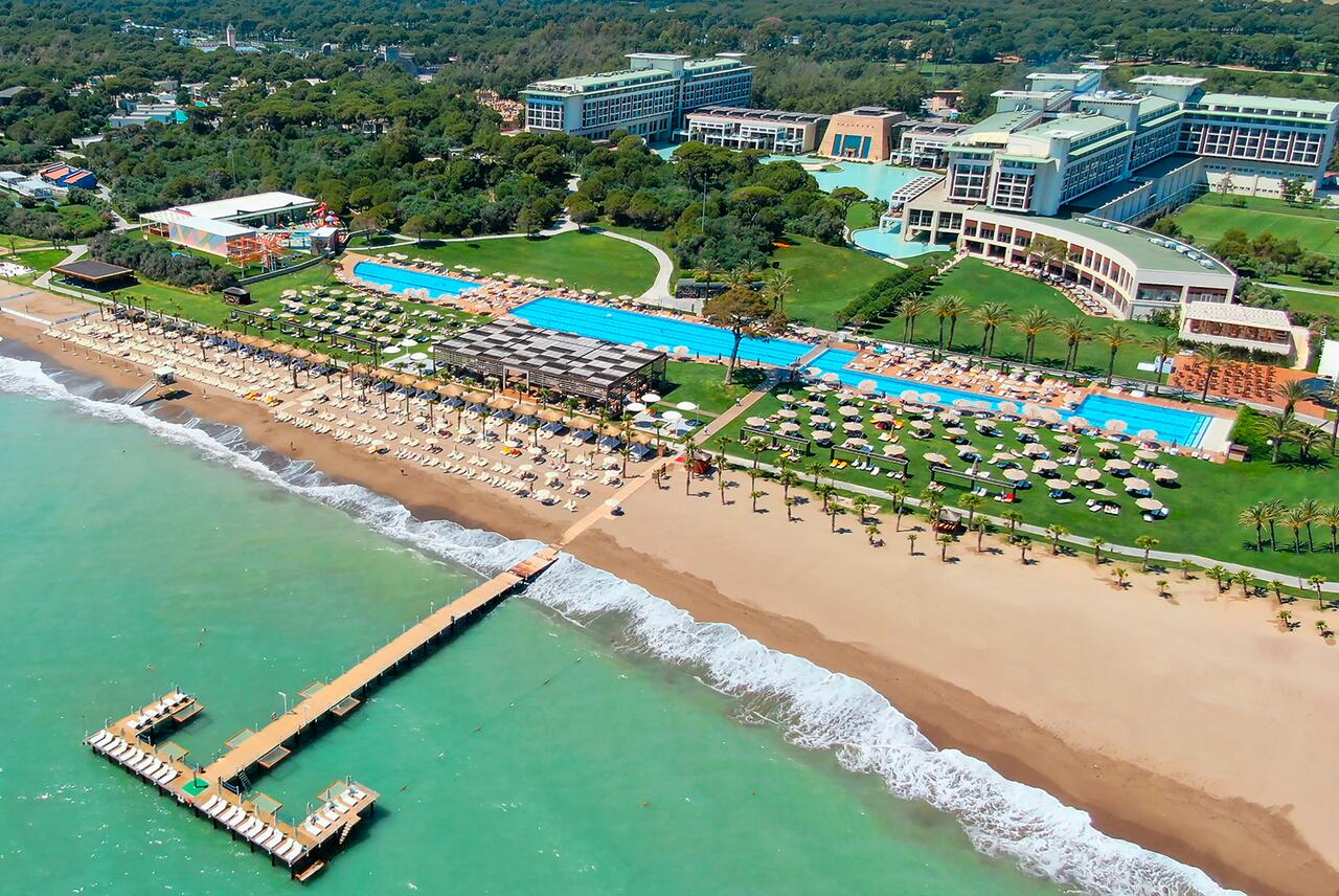 Отели Турции с подогреваемым открытым бассейном