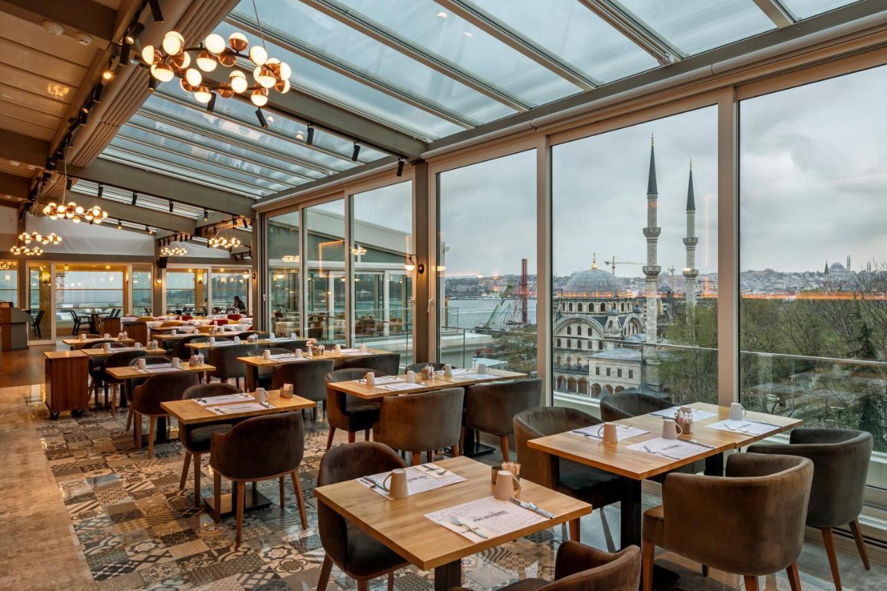 Отели Стамбула с видом на Босфор